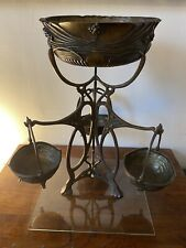 WMF Art Nouveau Bronze Very Large Centrepiece Epergne Cire Perdu Lost Wax Method
