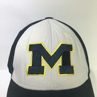 Vintage NCAA Michigan Wolverines Strapback Cap Hat OSFA