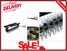 Tow-Behind Spike Aerator 40 Inch With Universal Hitch Lawn Mower Attachment New