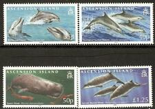 ASCENSION SG1029/32 2009 WHALES & DOLPHINS  MNH