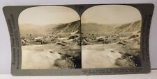 """Stereo View Card #26496-T """"Mammoth Springs Hotel Yellowstone National Park Wyo"""""""