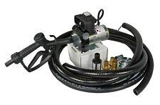 12V Dieselpumpe 40l/min im Set Fasspumpe Elektropumpe Betankungspumpe Ölpumpe