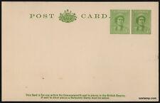 1942 QEII 1d Green Uprated! BW P71 CV $150 Postcard Stationery Stamps Australia