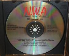 N.W.A EXPRESS YOURSELF & STRAIGHT OUTTA COMPTON 4 TRACK PROMO CD SILKK THE SHOCK