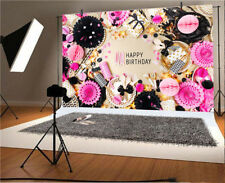 Vinyl Happy Birthday Photo Background Props 7x5Ft Studio Backdrop Party Gifts