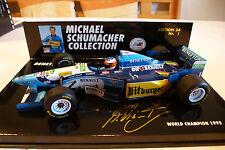F1 Benetton Renault B 195/2 Champion 1995 MSC  OVP 1/24 Minichamps