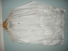 Nike Women's Transparent White Packable Rain Running Cycling Jacket Small.New