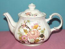 Vintage Sadler England Teapot Floral Design #3847