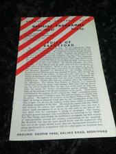 Away Teams Southport Fourth Division Football Programmes