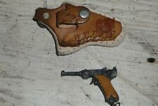 Vintage Miniature VICTORY Toy Gun Keychain With Holster