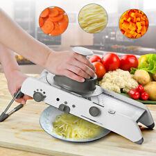 18 in 1 Slicer Manual Vegetable Cutter Professional Grater + Adjustable Blades