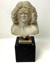 Original Antique Art Nouveau BUST of Mythical Female Central European Signed