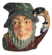 Mint Hand-Painted Royal Doulton Rip Van Winkle Porcelain Character Jug Mug
