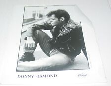 Donny Osmond Vintage Original Press Photo Capitol Records Pop Rock R&B Soul