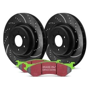 For Ford Escape 05-12 EBC Stage 3 Truck & SUV Dimpled & Slotted Front Brake Kit