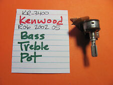 KENWOOD R06-2002-05 BASS TREBLE POT KR-3400 STEREO RECEIVER