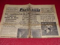 [PRESSE WW2 AVANTGUERRE] PARIS-SOIR #4522 12 NOVEMBRE 1935