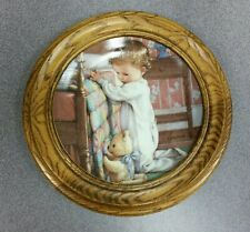 "Vtg 1991 Danbury Mint Collector Plate, ""Bedtime Prayers"" by Kathy Lawrence A6041"