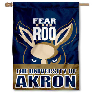 University of Akron Banner Flag