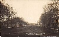 C81/ Boyd Minnesota Mn Real Photo RPPC Postcard 1910 Main Street Stores Homes