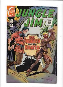 "JUNGLE JIM #25 [1969 FN+] ""THE HUNTER & THE HUNTED"""