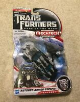 Transformers Autobot Armor Topspin Toy Action Figure Dark Moon DOTM Deluxe Class