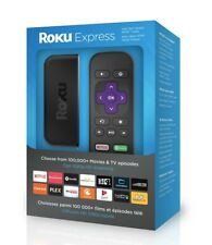 ROKU EXPRESS ( 3900r ) STREAMING MEDIA PLAYER (BLACK) LATEST MODEL , NEW IN BOX