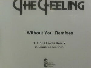 The Feeling - Without You Remixes CDr single PROMO 2008 Linus Loves MINT & RARE