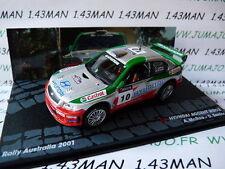 voiture 1/43 IXO  Rallye ITALIE HYUNDAI Accent WRC2 McRae Australie 2001