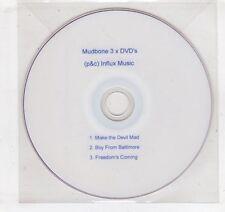 (GV636) Mudbone, 3 videos - DJ DVD