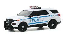 1/64 GREENLIGHT 42920 NEW YORK CITY POLICE NYPD 2020 FORD INTERCEPTOR  IN STOCK!