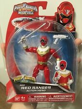 Ban Dai Power Rangers Super Megaforce Red Ranger Zeo Action Figure Legacy Tommy
