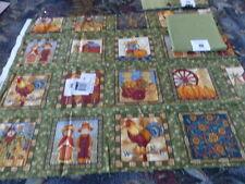 pour patchwork45x55 neufs la ferme et le vert