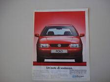 advertising Pubblicità 1995 VOLKSWAGEN POLO