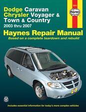 Dodge Caravan, Chrysler Voyager and Town & Country, 2003 thru 2007 (Haynes Au…