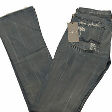 7 For All Mankind Jeans Womens Jean Rocker Distressed 24 Wsq Low U689s689s Boot