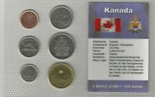 Canada set 1 Cent - 1 Dollar 2007 - 2012 incl. Lucky Loonie plastic folder UNC