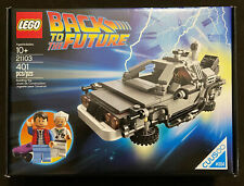LEGO Ideas Back To The Future The DeLorean Time Machine 21103 Cuusoo Retired NEW