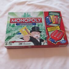 2013 MONOPOLY ELECTRONIC BANKING BOARD GAME JEU HASBRO COMPLETE bilingual