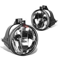 FOR 03-05 DODGE NEON SRT-4 FRONT CLEAR BUMPER FOG LIGHT LAMP+BULB LEFT+RIGHT