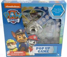 Nickelodeon  Nick Jr Paw Patrol Pop Up game ages 4+ learning game