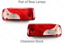 Pair of Rear Lamp/light Pickup/Luton/Tipper/Chassis cab Sprinter VW Crafter
