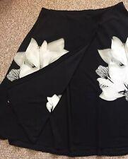 0143c34740 QVC Butler & Wilson Flower Print Wrap Skirt Size 3XL Bn