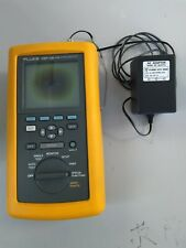 Fluke Dsp 100 Lan Cable Meter With An External Ac Adapter