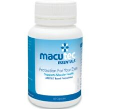 Macutec Essentials 60X3 Bottles Protection for your eyes Supports Macular Health