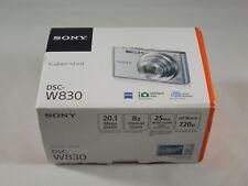NEW in Box - Sony Cyber-Shot DSC-W830 20.1 MP Camera - BLACK - 027242876972