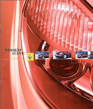 Renault Scenic 2003-04 UK Market Sales Brochure Privilege Dynamique Expression