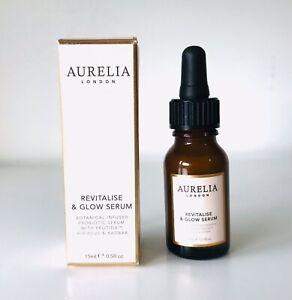 Aurelia Probiotic Skincare Revitalise and Glow Serum 15ml BNIB