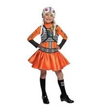 NEW STAR WARS Girls X-Wing Fighter Pilot Costume Size M 8-10