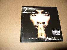 2 Pac R U Still Down Remember me 2 cd 1997 Excellent Condition